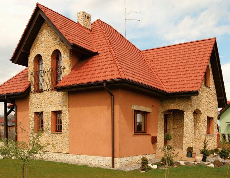 оранжевые дома оштукатуренные фото неудачного романа хакан