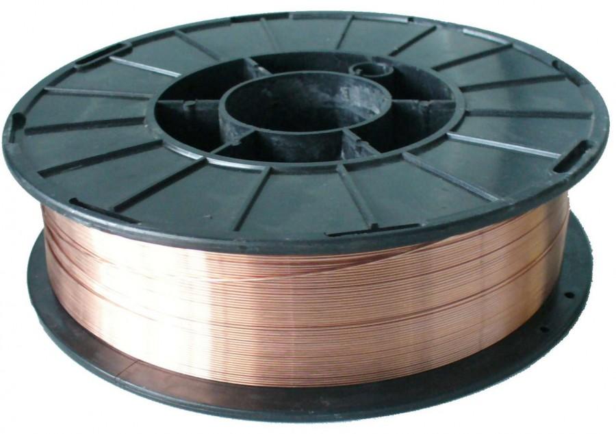 Сварочная проволока для сварки черных металлов и других материалов омедненная в катушках 1-2 мм и другие виды ГОСТ и производители