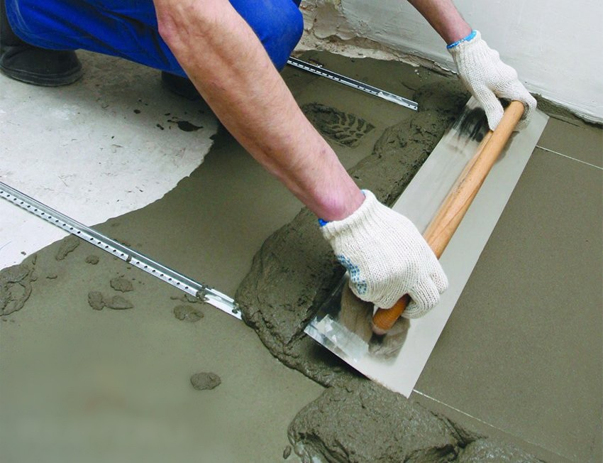 Сухая бетонная смесь для стяжки пола бетон в рязани купить с доставкой цена