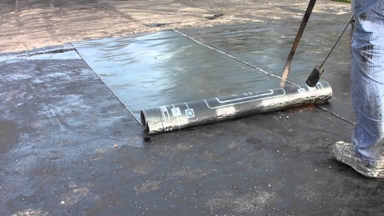 стеклоизол на крышу гаража