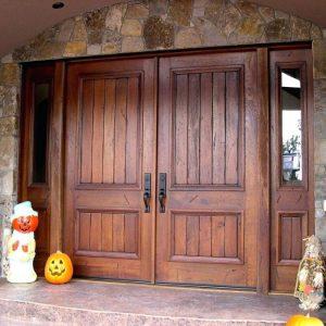 Входные деревянные двери – устройство, особенности изготовления и советы как выбрать деревянную дверь правильно
